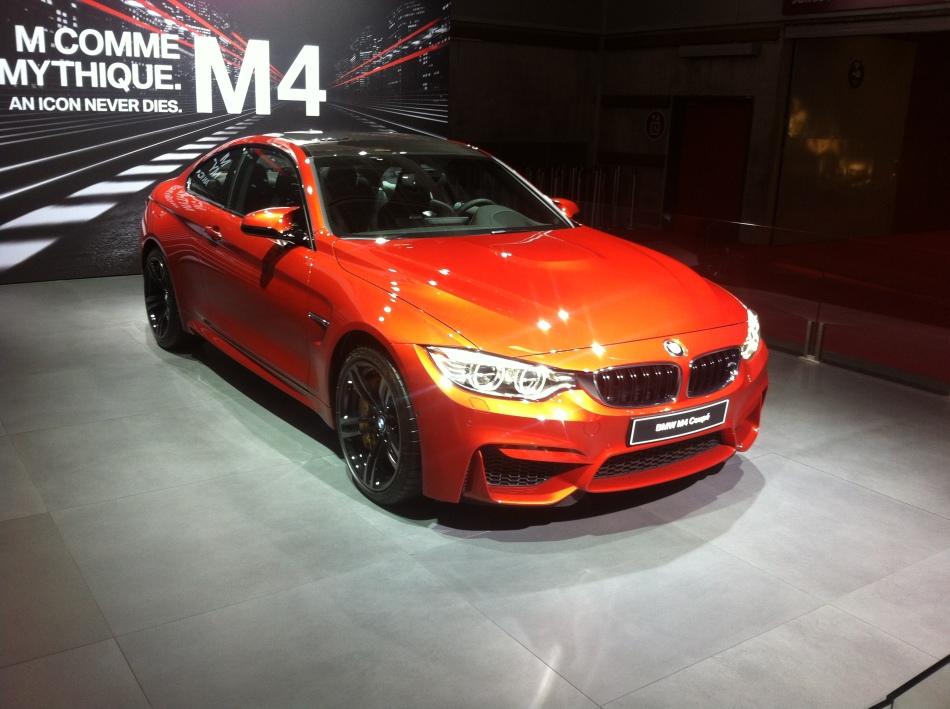 Mondial Auto 2014 : BMW M4 Coupé et M4Cabriolet