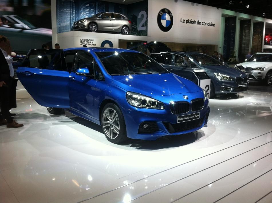 Mondial Auto 2014 : BMW Série 2 ActiveTourer