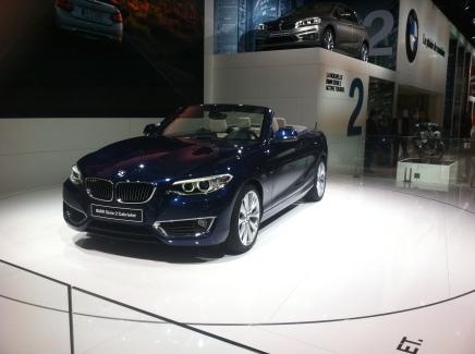 Mondial Auto 2014 : BMW Série 2Cabriolet