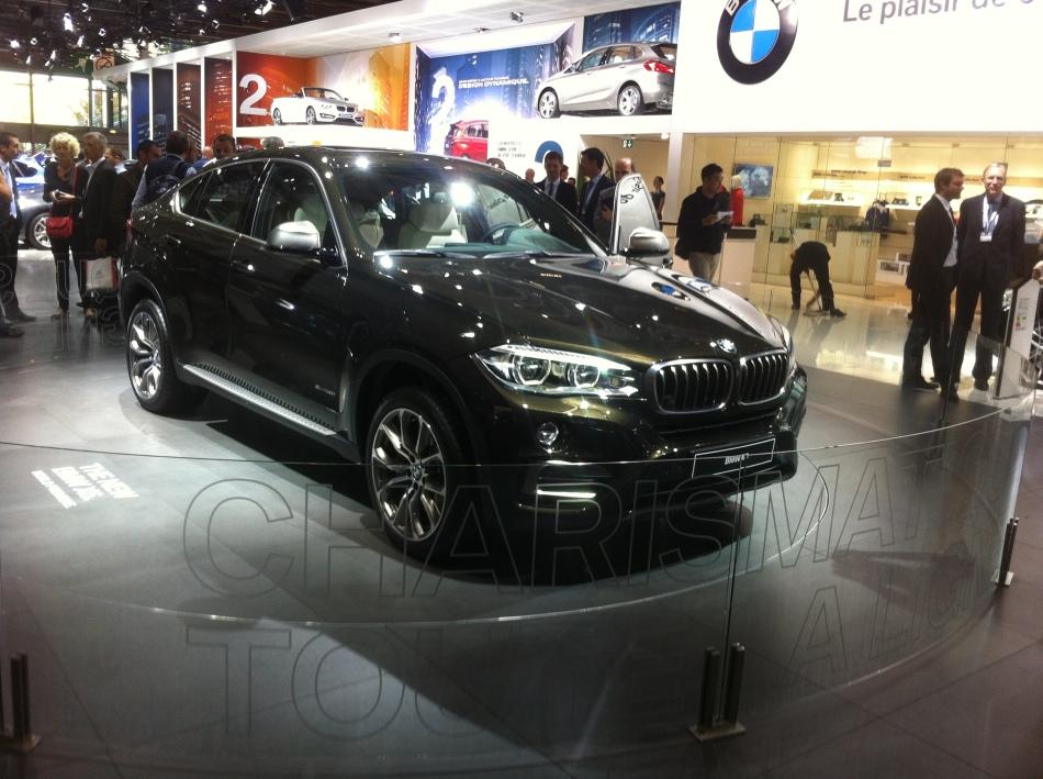 Mondial Auto 2014 : BMWX6