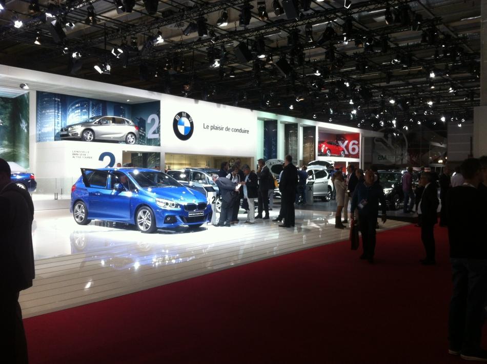Galerie photos : BMW au Mondial Auto2014