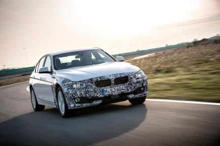 BMW prépare une Série 3 hybriderechargeable