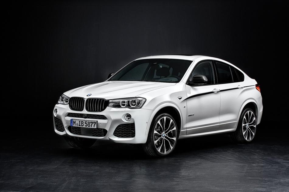 BMW présente les accessoires M Performance pour leX4