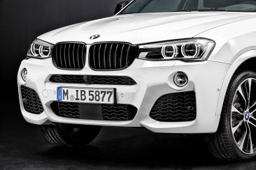 BMW X4 M Performance Parts