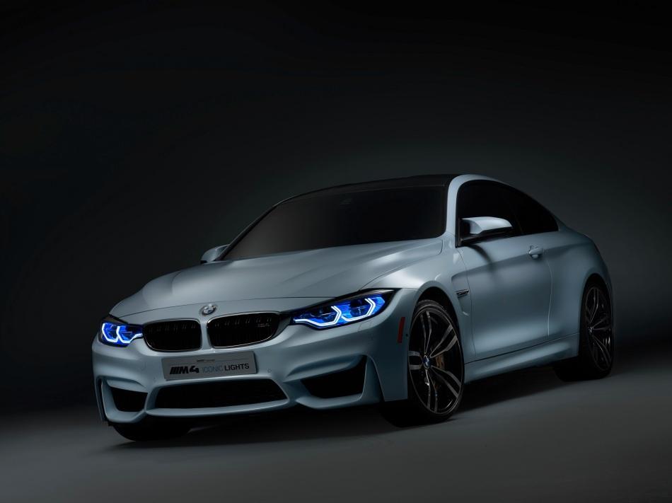 BMW présente une M4 avec des phares Laser et des feuxOLED