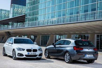 BMW dévoile la Série 1restylée