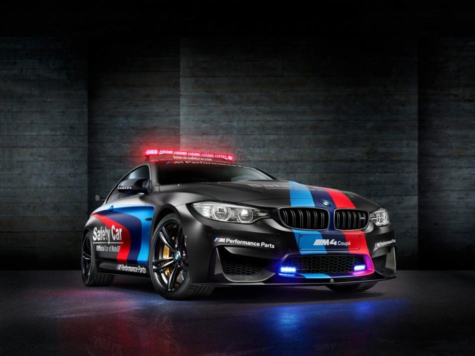 BMW lève le voile sur la M4 Safety Car pour la saison 2015 de MotoGP