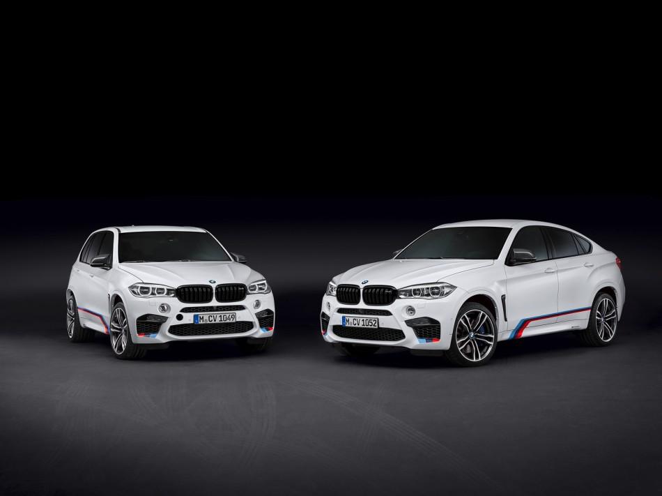BMW présente les accessoires M Performance pour les X5 M et X6M