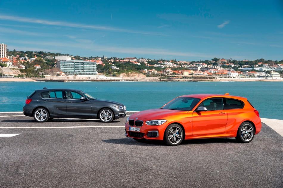 Le plein de photos de la nouvelle BMW Série 1restylée