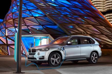 BMW dévoile officiellement le X5 hybriderechargeable