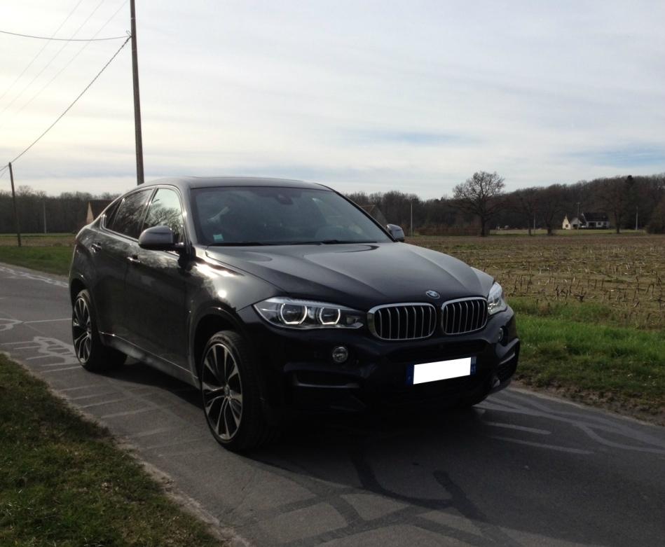 Essai BMW X6M50d