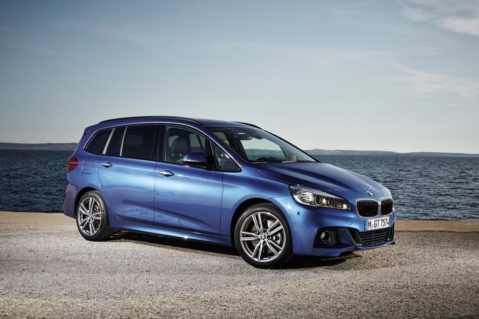 Le plein d'images de la nouvelle BMW Série 2 GranTourer