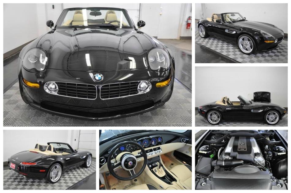 Cinq BMW Z8 à vendre chez un concessionnaireAméricain