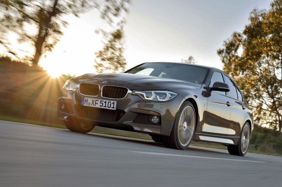 BMW dévoile officiellement la série 3restylée