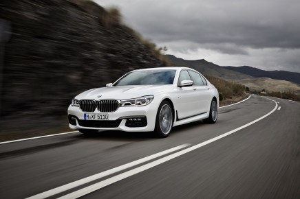 Galerie Photos : Nouvelle BMW Série7