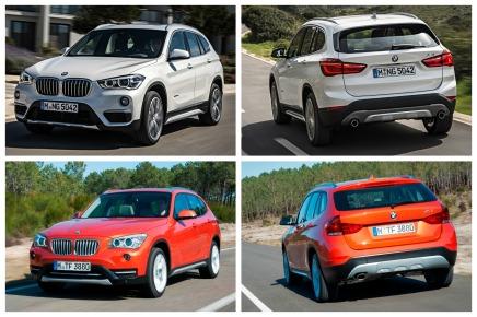 Le nouveau BMW X1 face à la précédentegénération
