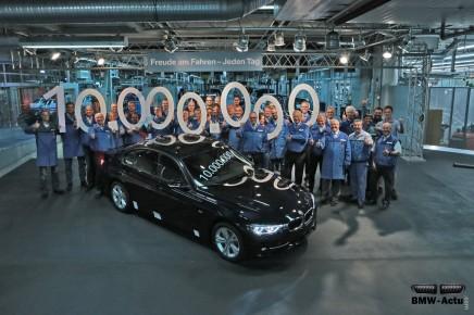BMW célèbre la 10 millionième Série 3produite