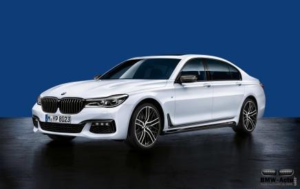 BMW présente les accessoires M Performance pour la Série7
