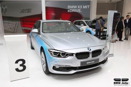 Francfort 2015 : nouvelle BMW 330e, hybride etrechargeable