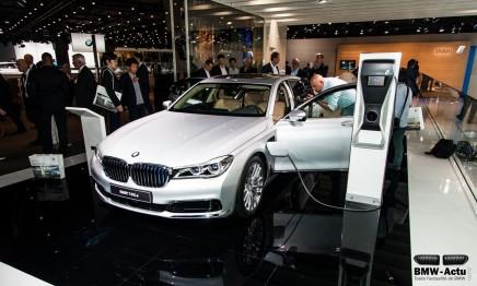 Francfort 2015 : la nouvelle BMW 740e hybriderechargeable