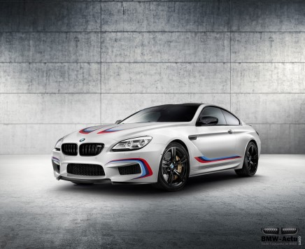 Francfort 2015 : 600 chevaux dans la BMW M6 CompetitionEdition