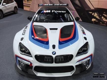 Francfort 2015 : la BMW M6 sedévergonde