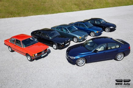 40 ans de BMW Série 3 enimages