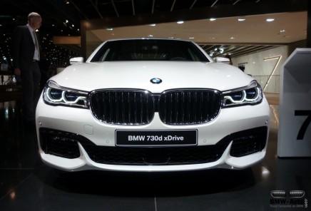 Francfort 2015 : la nouvelle BMW Série7