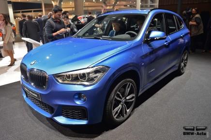Francfort 2015 : le nouveau BMWX1