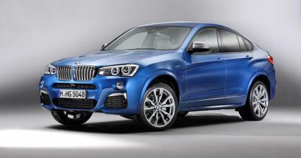 Le BMW X4 M40i se dévoile enavance