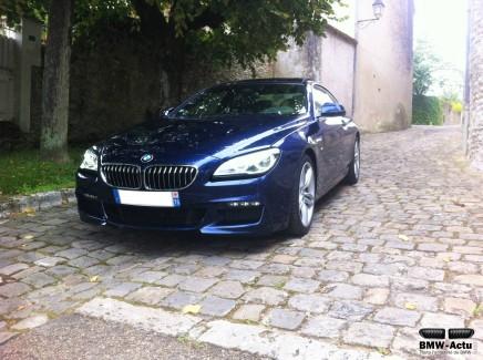 A l'essai : BMW 640d M SportCoupé
