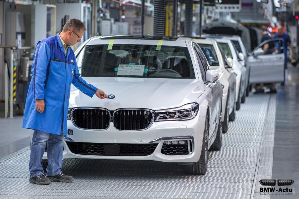 Découvrez l'assemblage de la nouvelle BMW Série 7 envidéo