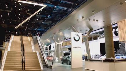 Francfort 2015 : le stand de BMW envidéo