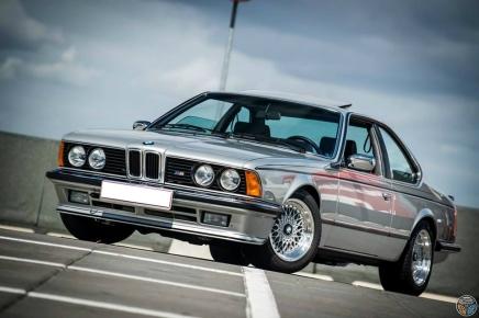 Coup d'œil dans le rétro : BMW 635CSi