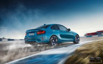 La nouvelle BMW M2 : une drifteuse née!