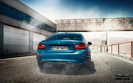 Appréciez les vocalises des 370 chevaux de la BMW M2 en vidéo!
