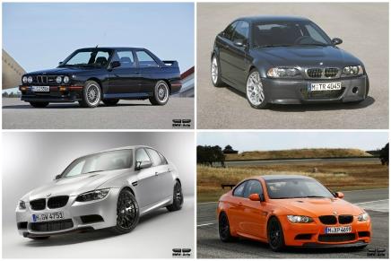 30 ans d'éditions spéciales de la BMWM3