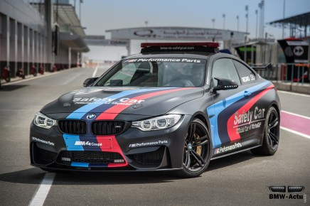 Saga des Safety Car BMW en Moto GP
