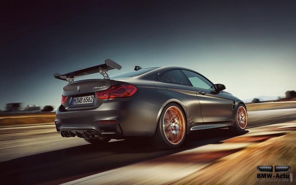 Appréciez les vocalises des 500 chevaux de la BMW M4 GTS envidéo