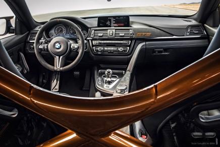 Vivez le tour du Nürburgring de la BMW M4 GTS en vidéoembarquée