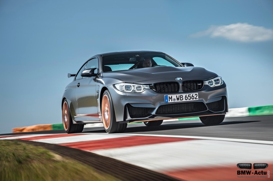 La nouvelle BMW M4 GTS écrase la concurrence sur leNurburgring