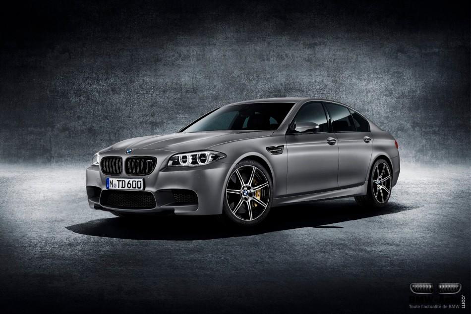 Une BMW M5 30ème anniversaire de 600 chevaux en vente à 275 000$