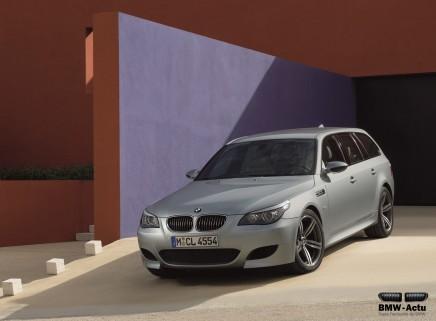 Coup d'œil dans le rétro : BMW M5Touring