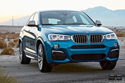 Le nouveau BMW X4 M40i disponible à partir de 69 800€