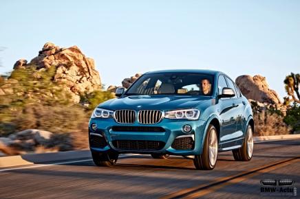 BMW dévoile officiellement le nouveau X4M40i