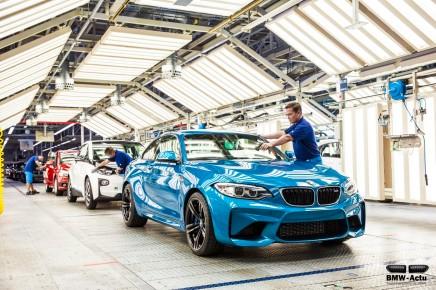 Début de la production de la nouvelle BMW M2!