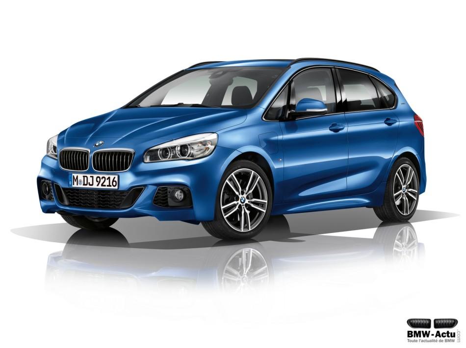 Début de la production de la BMW 225xe ActiveTourer