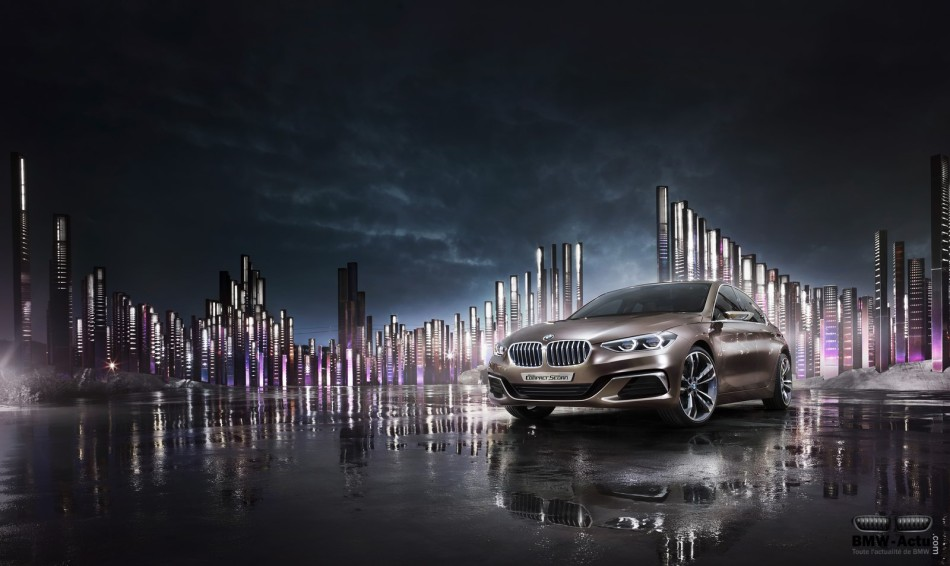 BMW présente un nouveau concept de berlinecompacte