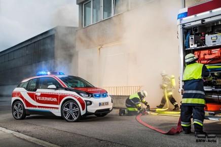 Pompiers, police, BMW présente les différentes utilisations de lai3
