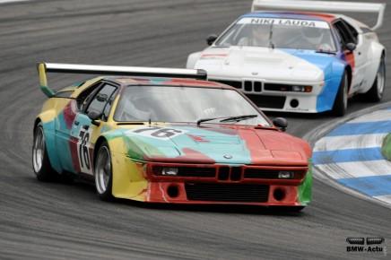 Coup d'œil dans le rétro : le championnat BMW M1Procar